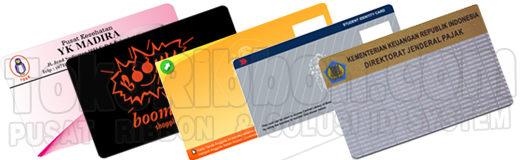 Pembuatan dan Pencetakan kartu pvc dan id card High Quality Harga Termurah