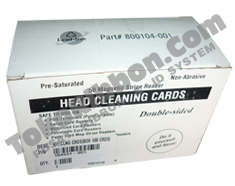 Jual head cleaning card printer Zebra P330i harga murah