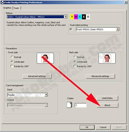 driver printer evolis