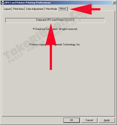mengetahui versi driver Datacard SD260 / SD360
