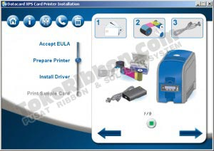 Instal driver Datacard SD360