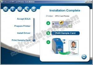 Instal driver Datacard SD360 FINISH