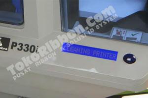 Waktu yang tepat untuk cleaning printer Zebra P330i