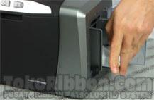 card jam - kartu macet Fargo DTC1000