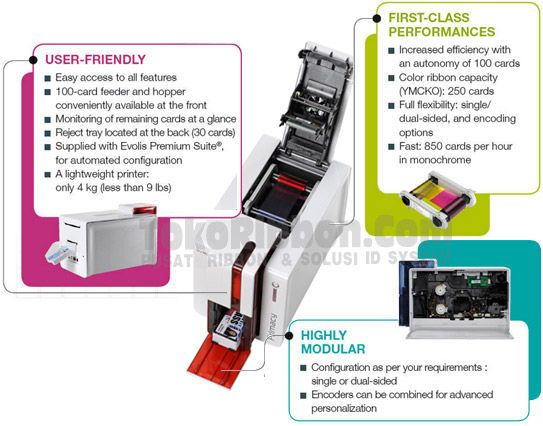 review Fitur Evolis Primacy