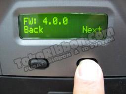 Info firmware - cara tahu versi firmware Fargo HDP5000
