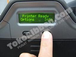 Tekan Info - Cara mengetahui jumlah kartu HDP5000