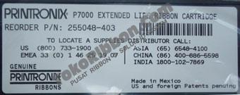 Ribbon Printronix P7000 255048-403 Extended Life Cartridge