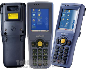 Scanner-barcode-portable-data-terminal-Unitech-HT680