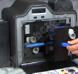 membersihkan - cleaning FargoHDP5000