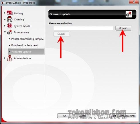 langkah-cara-update-firmware-evolis-zenius