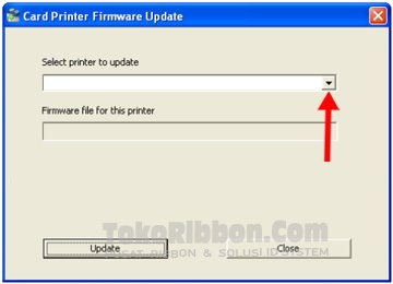 Card printer firmware update untuk upgrade firmware Datacard SP25/35/55/75 plus