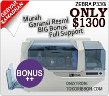 Promo printer Zebra P330i harga murah